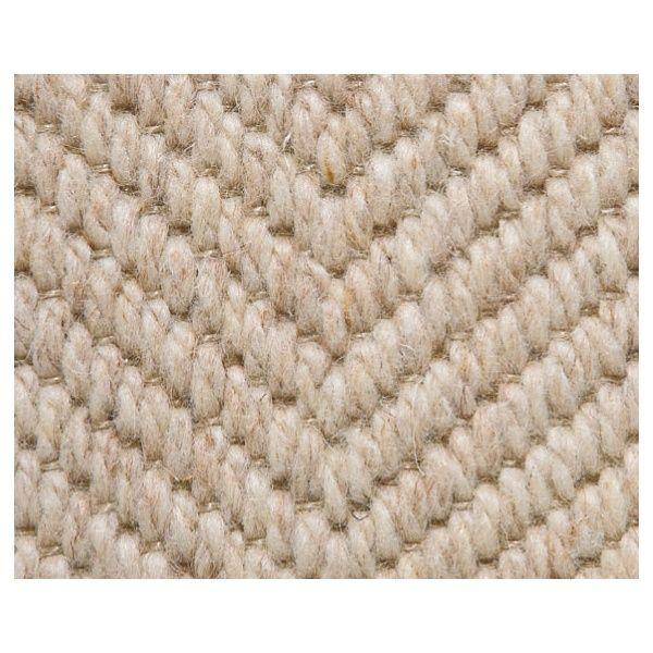 Kersaint Cobb Pampas Herringbone 9 100% Wool Beige Loop Pile Carpet