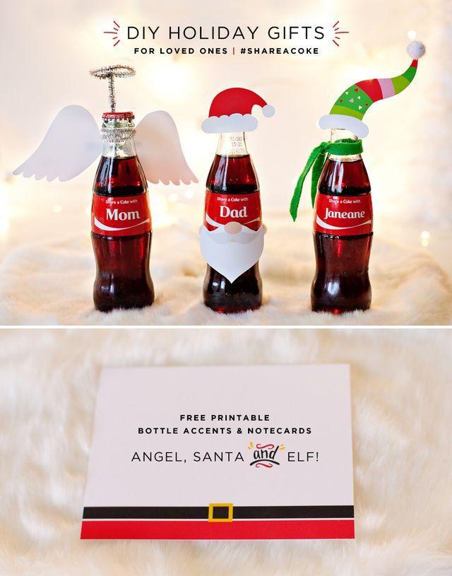 Creative DIY Holiday Gifts + #ShareaCoke Giveaway