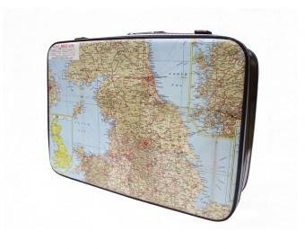 Store your wedding memories in this revamped vintage suitcase by U Old Bag!