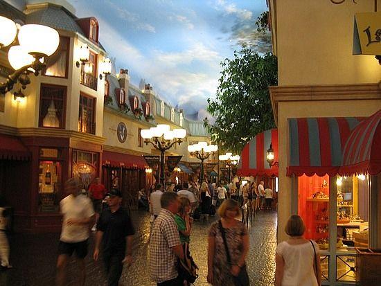 Inside The Paris Casino In Las Vegas The Ceiling Is