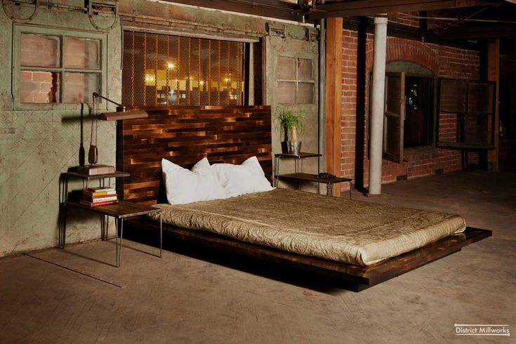 Vintage Industrial Decor | Sharp Antique Urban Industrial Bedroom Design listed in: Rustic ...