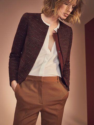 Novedades en moda para mujer cada semana de la última colección otoño invierno 16 de Massimo Dutti online. Lo último en jerseys, camisas, botines y bolsos.