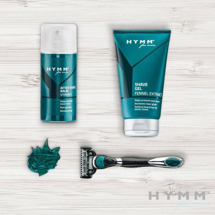 Todo lo que necesitas para un afeitado cómodo y apurado en un útil conjunto. El #Gel de #Afeitar #HYMM, la #Maquinilla de Afeitar con 5 Hojas HYMM y el #Bálsamo Después del Afeitado HYMM ofrecen al hombre todo lo que necesita para empezar el día de la mejor manera: con un afeitado bien apurado.