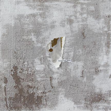 mehu (2013) 40x40cm mixed media on canvas daniel soukup
