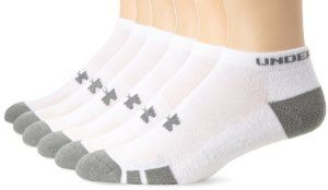 Men's Under Armour Resistor No-Show Socks 6-P... by Under Armour http://amzn.to/2g7d3xJ