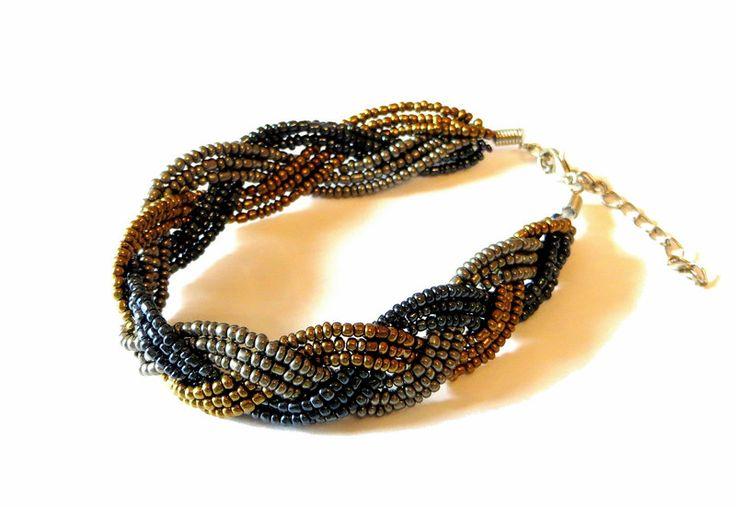 """Armbänder - Armband """"Orientalische Nacht"""" - ein Designerstück von Maiblume-fiore-di-maggio bei DaWanda"""