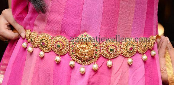 Jewellery Designs: Jos Alukkas Uncut Diamond Vaddanam or kamarbandh