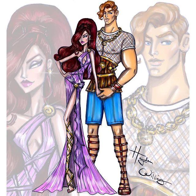 Hercules & Megara