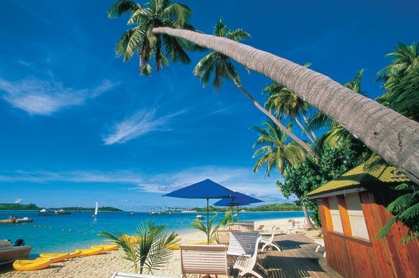 Plantation Island - Back Beach #Fiji