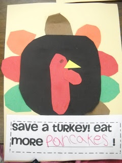 Read Twas the Night Before Thanksgiving before this activity.