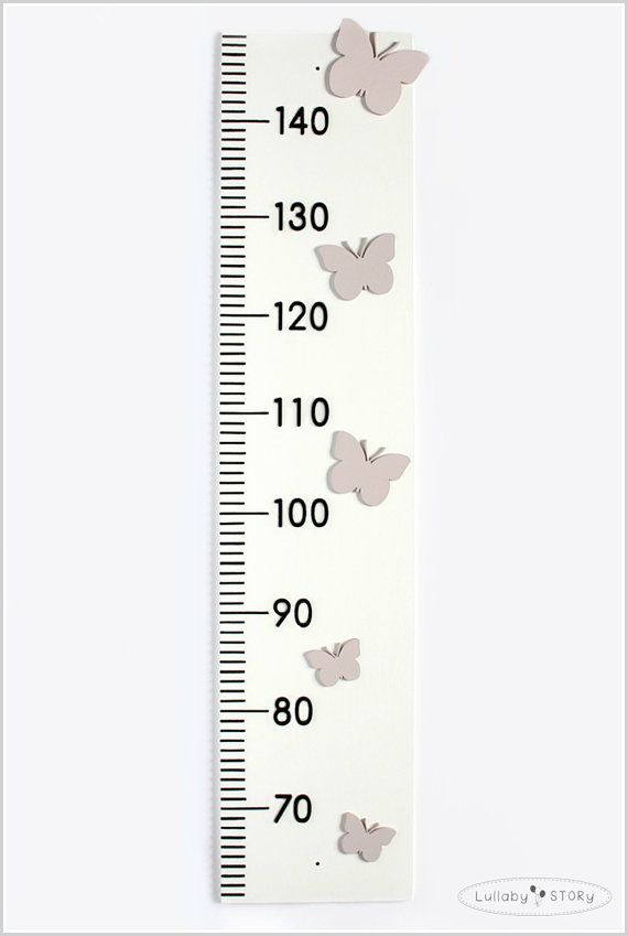 Wooden growth chart Growth chart with by LullabySTORY on Etsy