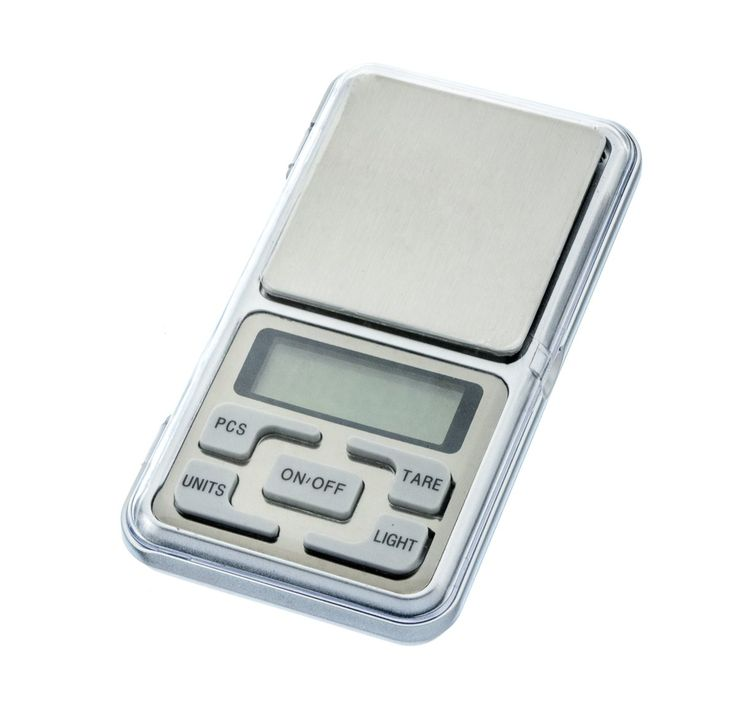 SE WC2610-5 Pocket Electronic 5 Unit Digital Scale Grams, Ounces, Tola, Carat, Grain, 17 oz Capacity
