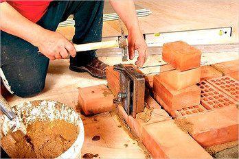 Кирпичная печь для бани своими руками