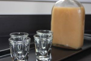 Homemade Butterscotch Vodka made in your dishwasher!!