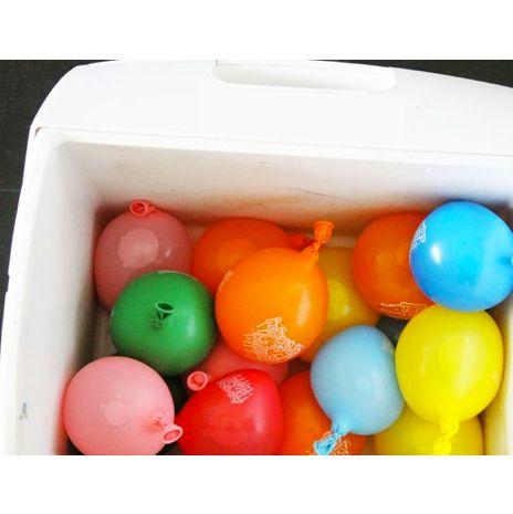 TLC Latinoamérica - Mantén tu cava o lonchera, fría y colorida con esta fabulosa y económica idea: globos de agua congelados.