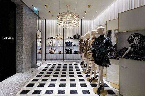 WEB LUXO - NEGÓCIOS: Valentino abre sua primeira loja na América do Sul