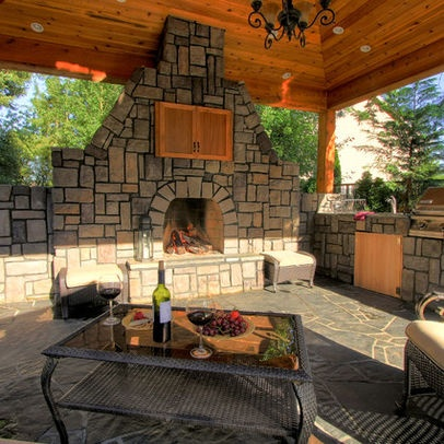 Outdoor TV Enclosure Plans | Patio Tv Cabinet Design Ideas, Pictures,  Remodel, And