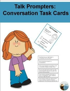 Many students have difficulty with conversation. Students with autism have difficulty with the social interactions and sustaining joint attention in conversations and play. Due to this difficulty with social interactions and joint attention, students