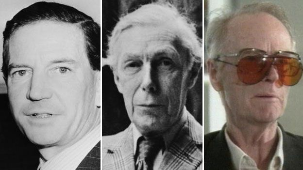 Kim Philby, Anthony Blunt and John Cairncross