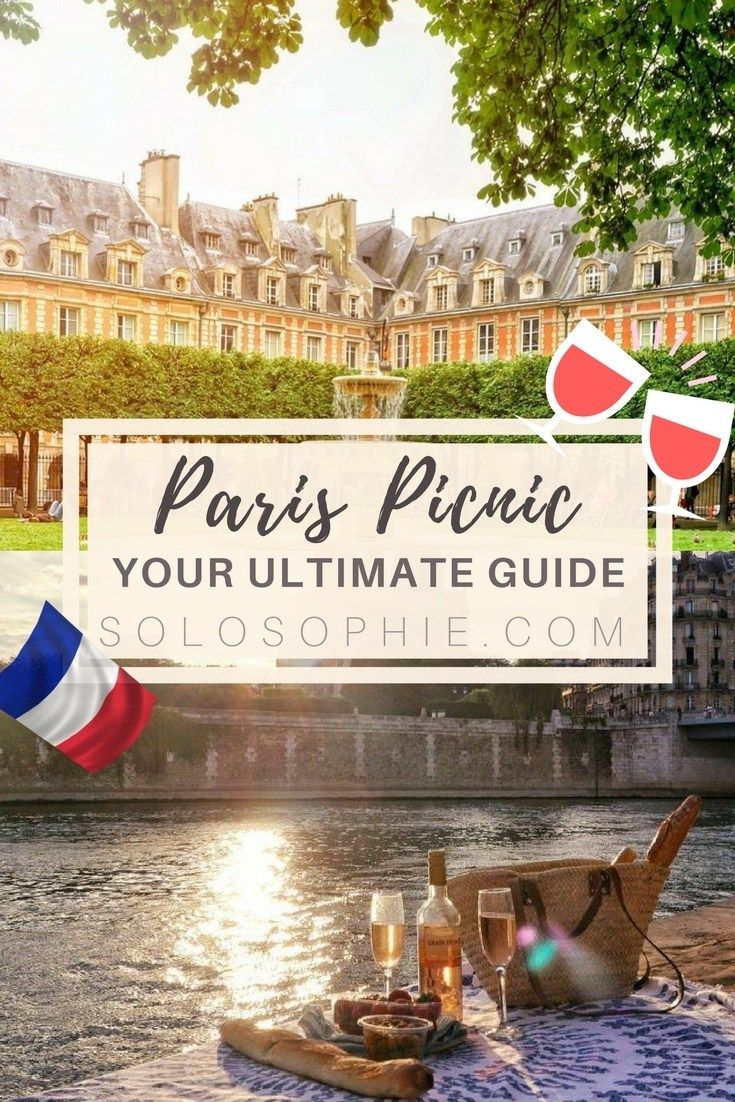 Your ultimate Parisian guide and Itinerary to enjoying a typically Parisian picnic in Paris, France. Where to find the best picnic spots in Paris (and what you should bring along)