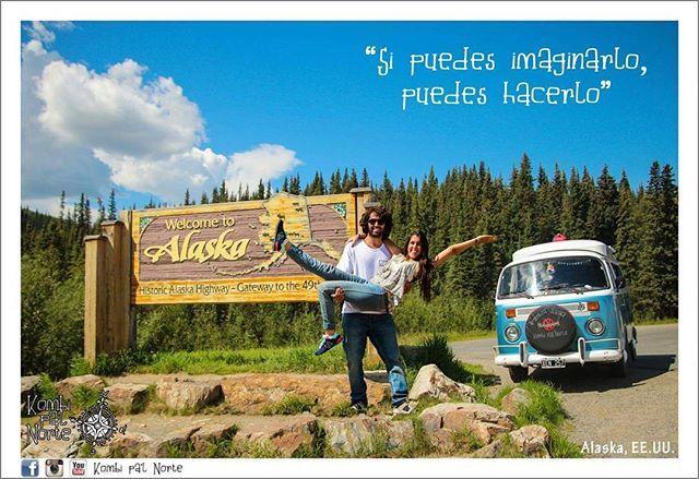 Liked on InstaGram: @viajayreite, @respiraelmomentoenkombi y @darle_lavuelta nos nominaron para participar de la consigna #10cosassobremi así que acá va para que nos conozcan un poquito más.  1) Salimos de Bs As en agosto de 2014 y llegamos a Alaska en julio de 2016. Ahora vamos bajando rumbo a Ushuaia. No sabemos cuando vamos a parar de viajar ni q haremos a la vuelta cuando decidamos instalarnos en algún lugar.  2) Nos conocimos bailando en un bar y llevamos más de 5 años juntos de los…