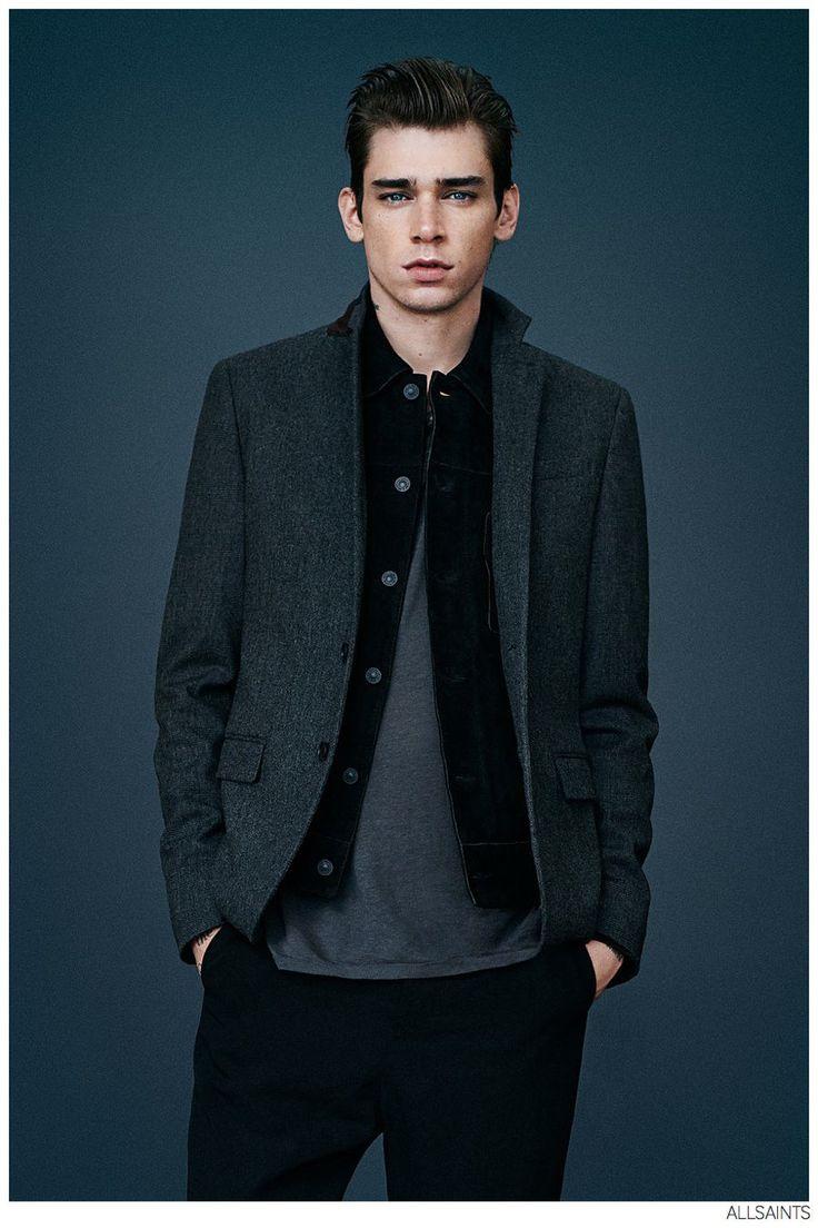 Cole Mohr Models Fall 2014 AllSaints Fashions