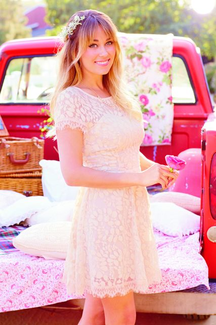 LOVE this dress from LC Lauren Conrad's August Collection