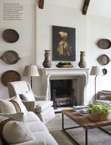 Veranda Magazine Living Rooms   Jim Howard, living room, Veranda magazine