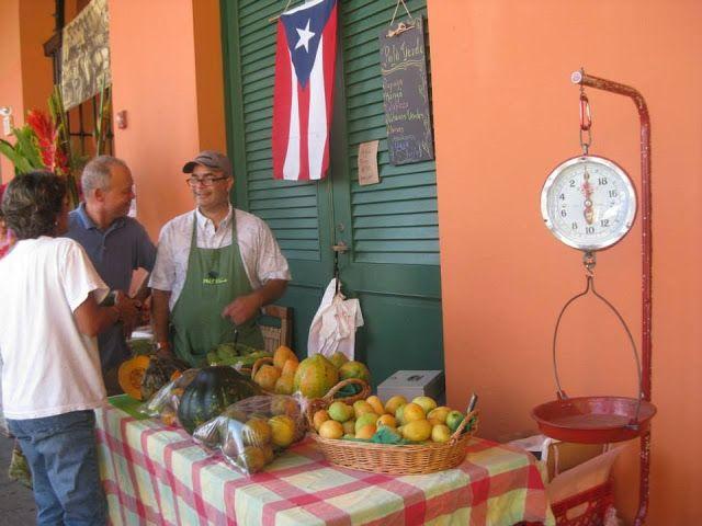 Sábados en el Mercado Agrícola del Viejo San Juan. #SanJuan #PuertoRico