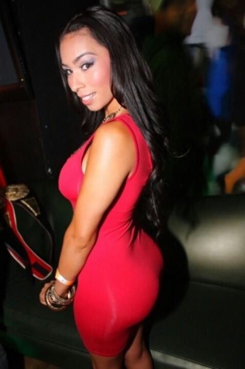 Kristal Solis Beautiful Gorgeous Tight Dresses Most