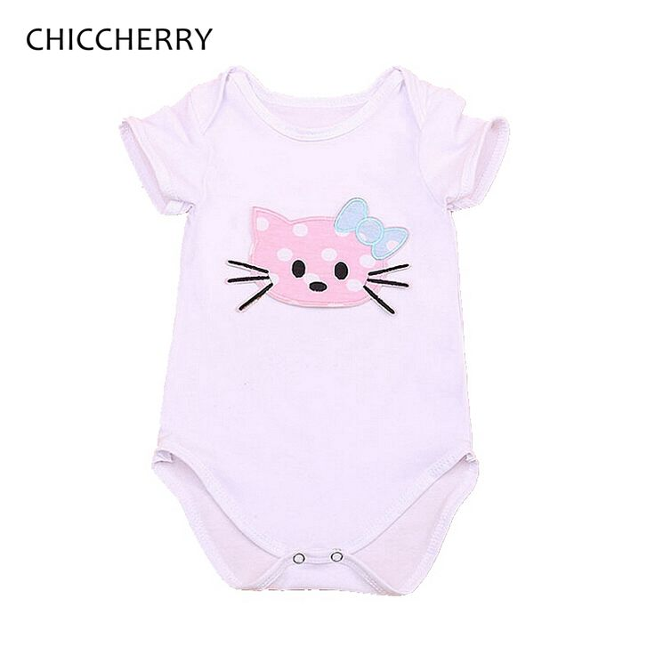 >> Click to Buy << Hello Kitty Summer Body Baby Girl Bodysuits Kids Overalls For Children Creepers Macacao Bebe Menina Cute Toddler Girl Clothes #Affiliate
