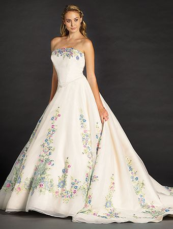 Alfred Angelo Bridal Style 252A from Disney Fairy Tale Bridal Omg!! This was one of favorite dresses that Ella wore :) I want to try this on..