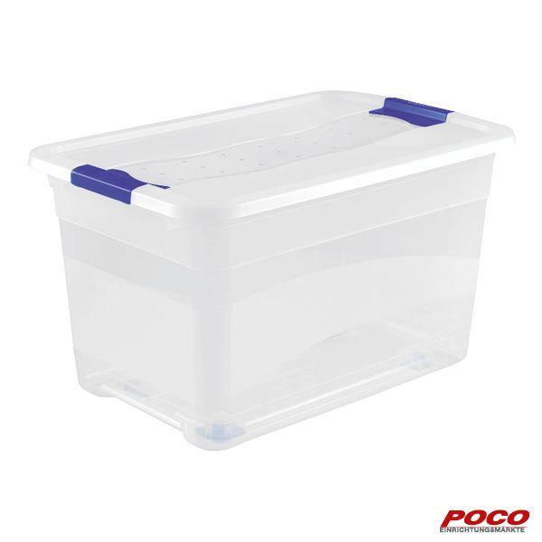 Kristallbox 52l Transparent Online Bei Poco Kaufen In 2020 Box Wolle Kaufen Kristalle
