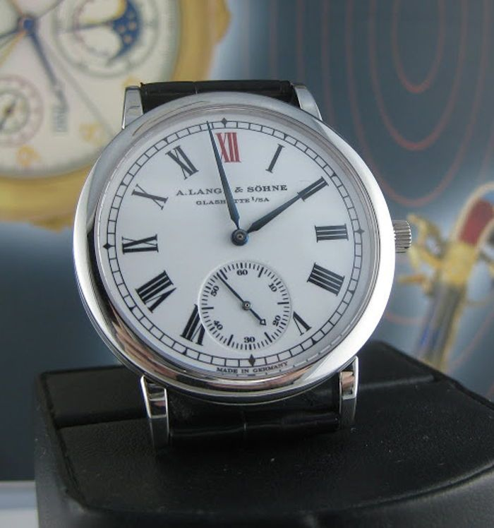 "Оригинальные часы A.Lange & Sohne ""Unforgettable Masterpieces Anniversary Langematik"" арт.№ 501.514.1"