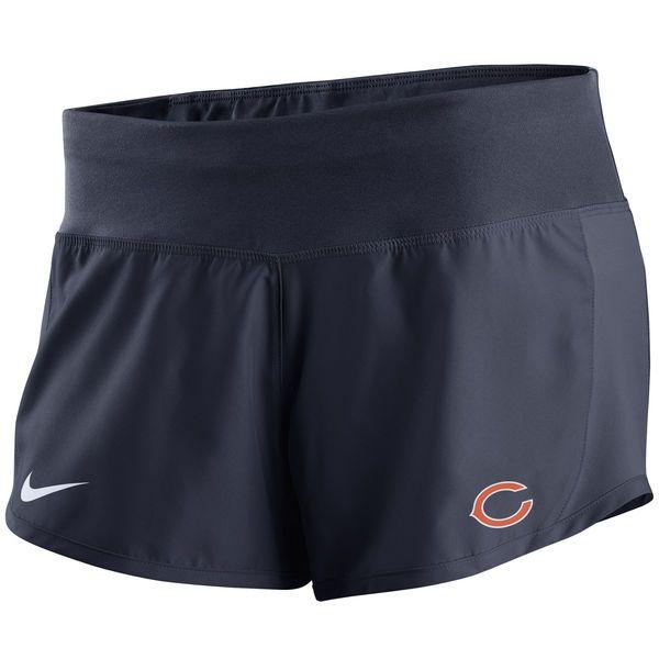Chicago Bears Nike Women's Gear Up Crew Performance Shorts - Navy - $41.99