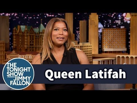 Queen Latifah and Jimmy Swap Prince Stories - YouTube