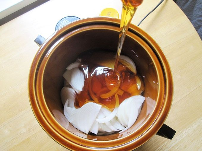 Xarope de cebola para tosse com catarro