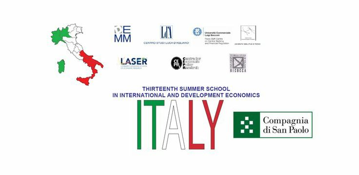 Summer School in International and Development Economics 2014, Italy. The school intends to provide an intensive training course for graduate students and young researchers who are working in the fields of development and international economics. For more information, please, visit http://one-europe.info/initiative/summer-school-in-international-and-development-economics-2014-italy