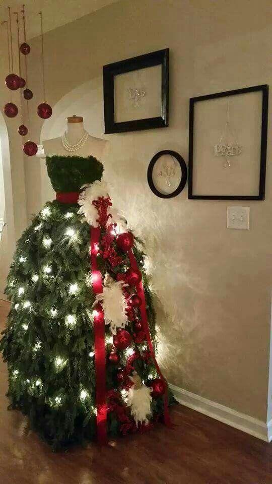 Best 25+ Christmas tree dress ideas on Pinterest | Christmas tree ...