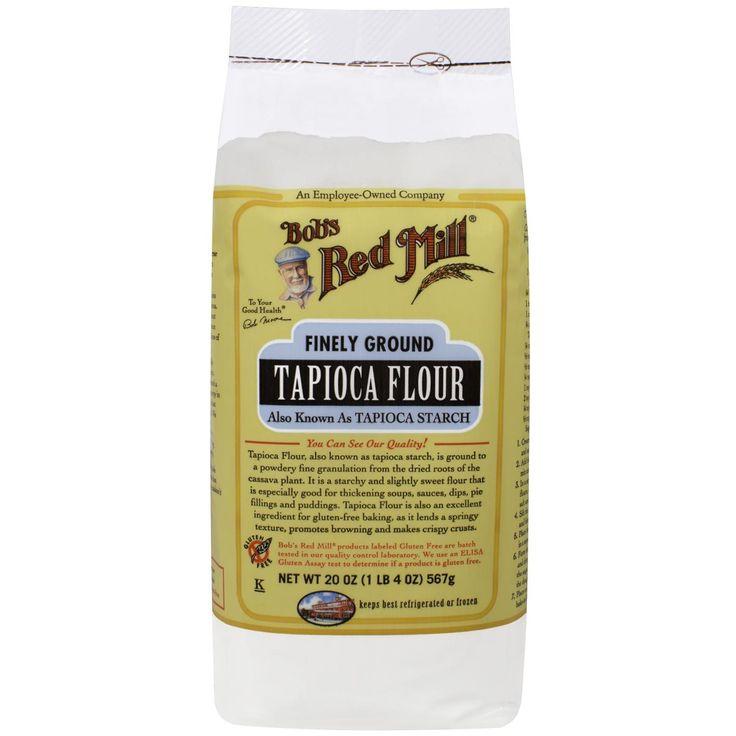 Bob's Red Mill, Tapioca Flour, Finely Ground, Gluten Free, 20 oz (566 g) - iHerb.com