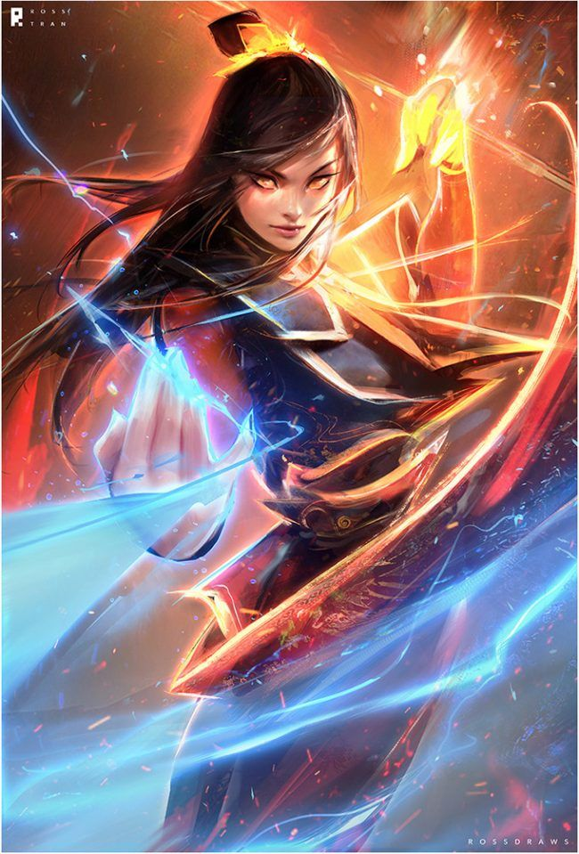 """""""Through Fire And Water"""": The Superb Concept Artworks Of Ross Tran"""