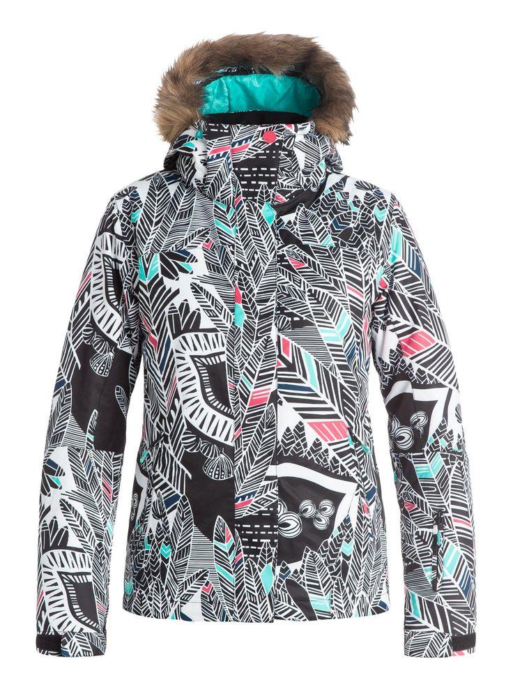roxy, Jet Ski - Veste de snow, HA-HUI_TRUE BLACK (kvj8)