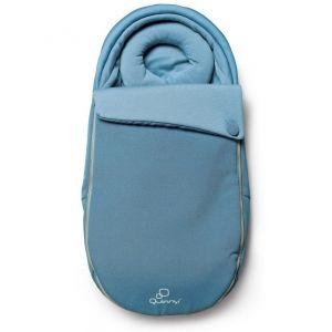 Quinny Moodd Baby Cocoon Footmuff - BLUE CHARM - 2014