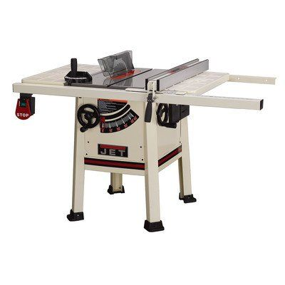 JET 708480 Model JPS 10TS 10 Inch 1 3/4 HP ProShop Table Saw With Steel  Wings Less Fence And Rails Table Saw Reviews Sawstop Table Saw Craftsman Table  Saw ...