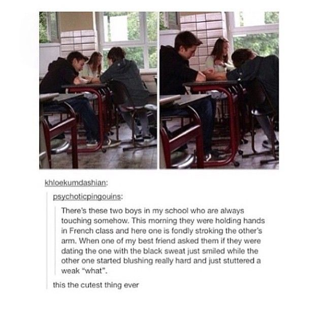I love this so much, I would read fanfiction about this. Quick, someone write it!!