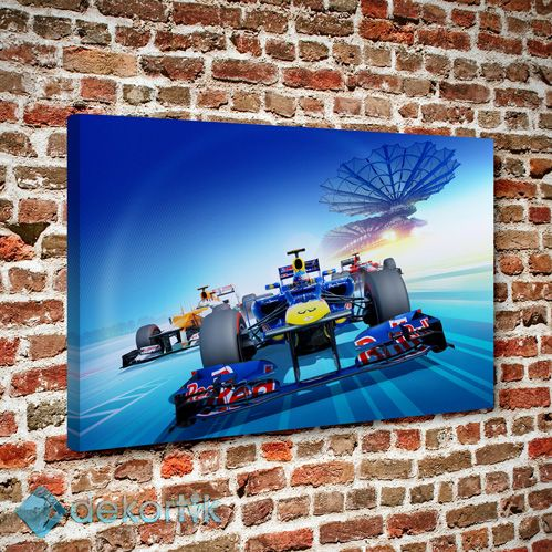 F1 Yarış Tablo #spor_kanvas_tablo #spor_temalı_tablolar