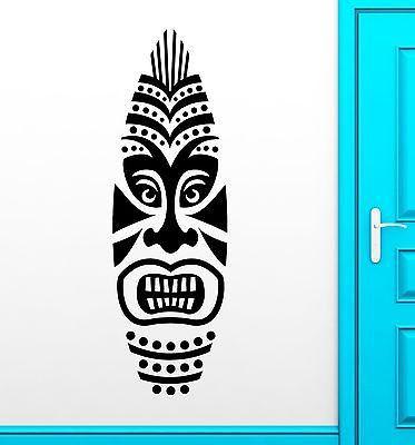 Wall Sticker Vinyl Decal Surf Boards Tiki Mask Design Surfing Extreme (ig2208)