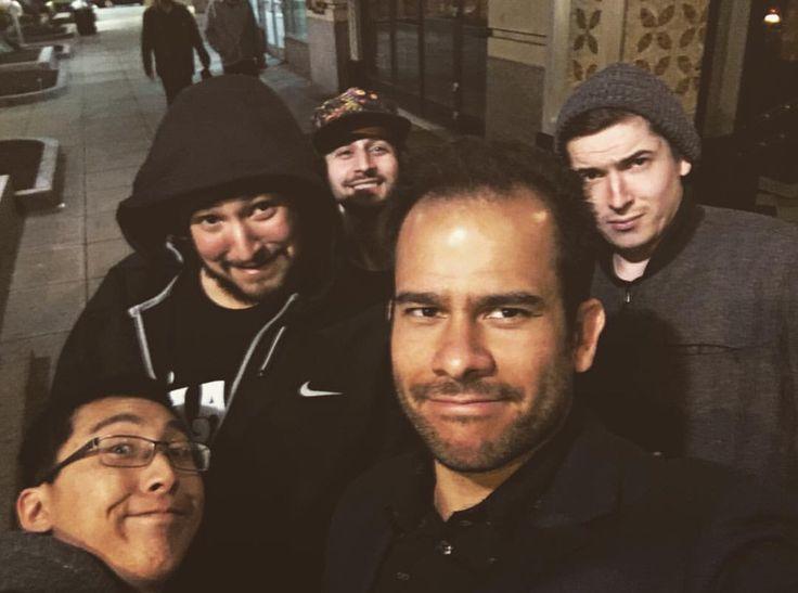 Aron, James, Joe, Brett and Aleks