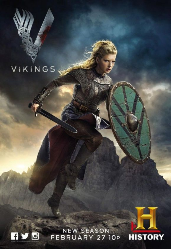 Vikings. Segunda Temporada. Lagertha.