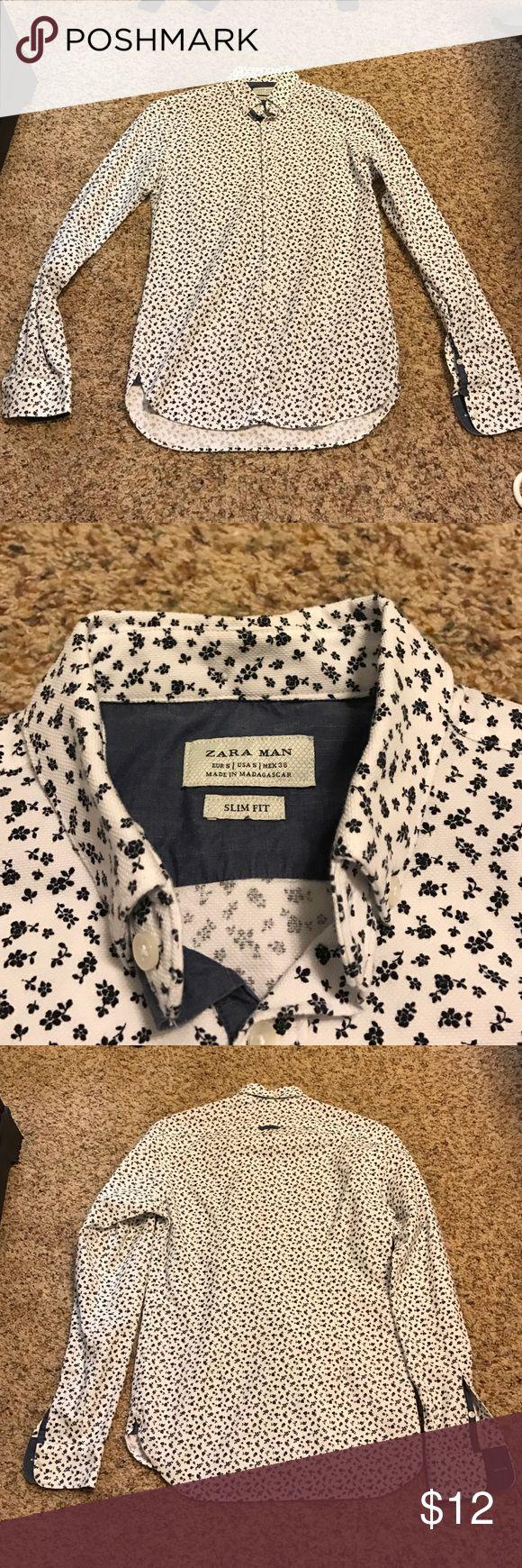 ZARA MAN Slim Fit shirt ZARA MAN Slim Fit shirt, seldom wear Zara Shirts Dress Shirts